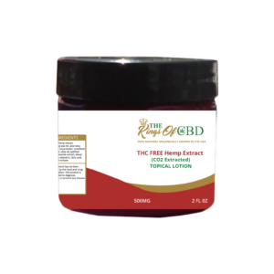 500MG THC FREE TOPICAL LOTION
